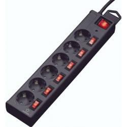 Cavo Telecom RS232. RJ11 per Attacco Temperatura Piatto 5.00 m Nero