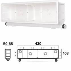 Alimentatore switching 15W - uscita regolabile 9-15V 1500mA